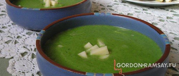 Простой суп из брокколи