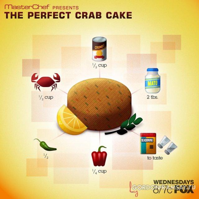 Идеальный крабовый пирог
