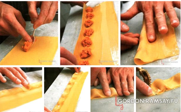 Как делать равиоли